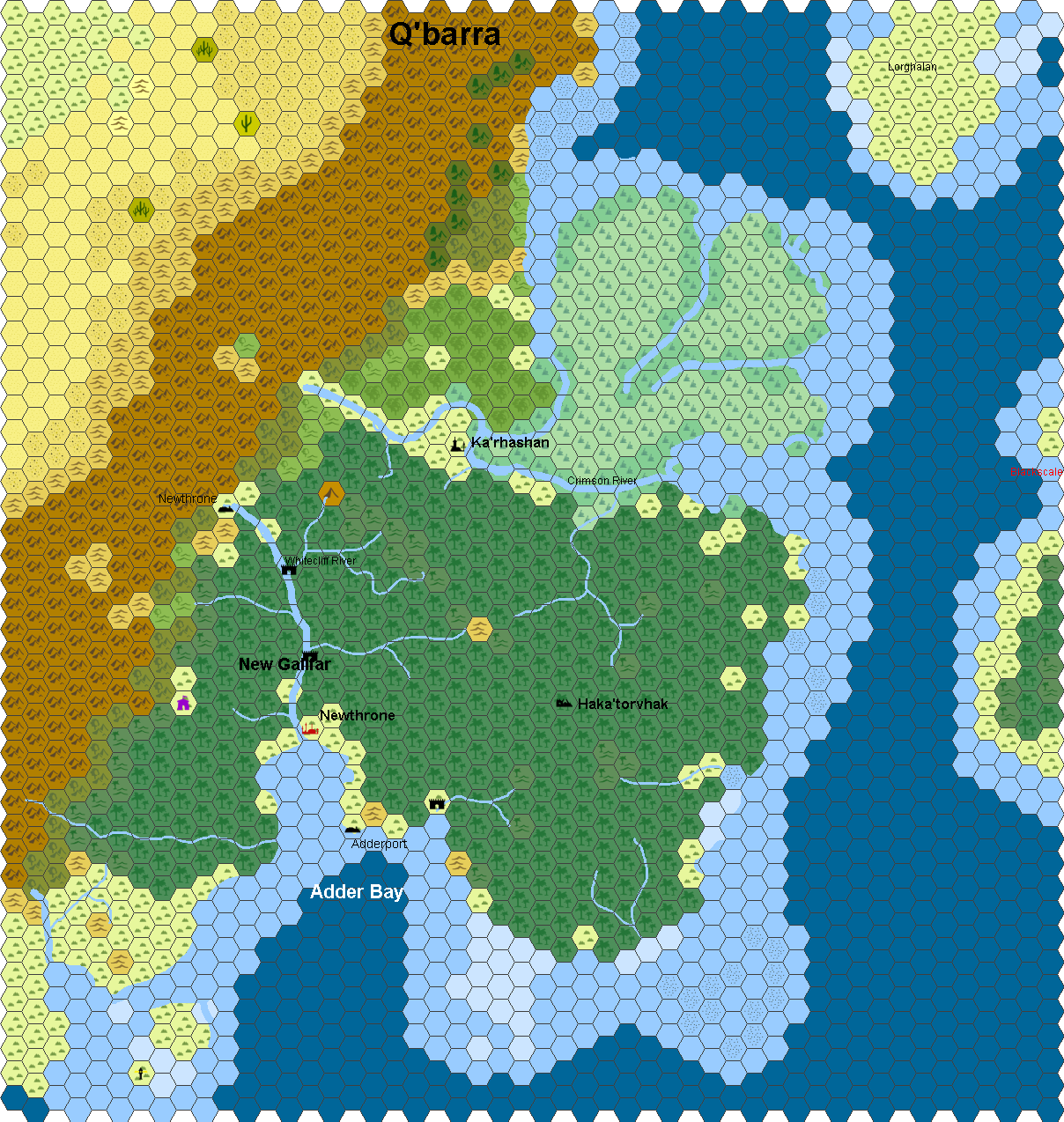 Sample Hexographer Map